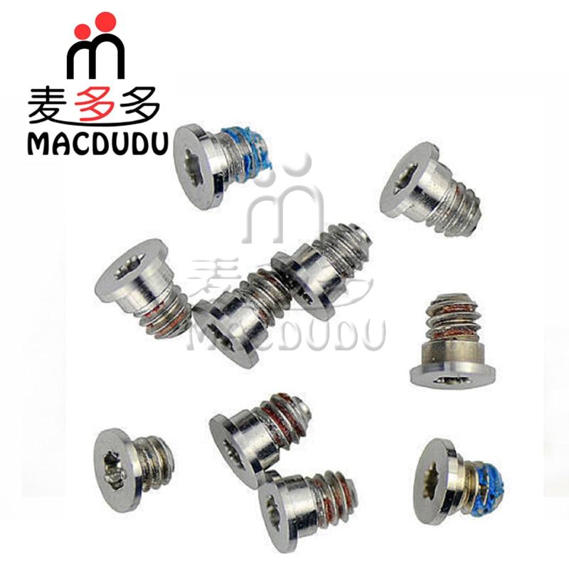 Free Shipping New bottom case screws 10pcs /set For Macbook Pro Retina A1398 A1425 A1502 MC975 MC976 MD212 MD213 ME864 ME865