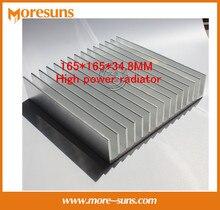 Fast Free Ship Industrial heat sink Aluminum radiator panel 165*165*34.8MM High power radiator