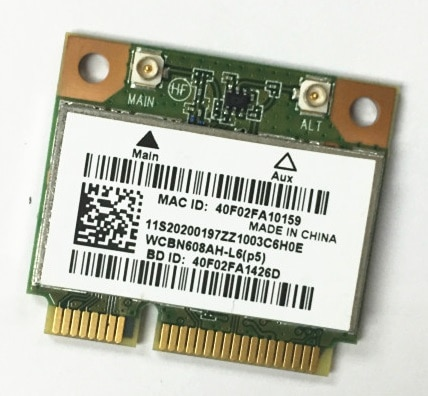 SSEA-tarjeta inalámbrica Mini PCI-E con WIFI, bluetooth 4,0, para Lenovo G400, G400S,...