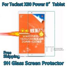Pour Teclast X80 puissance protecteur décran haute qualité verre trempé protecteur décran pour Teclast X80 puissance 8