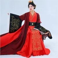 high quality cotton silk clothing ancient china couple wear traditional wedding hanfu traditional chinese royal wedding garments
