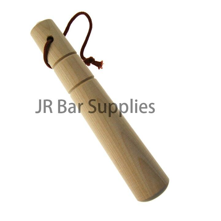 Muddler madeira Profissional Ferramenta Bartender Bebida Muddler-Ideal para Old Fashioned & Mojitos