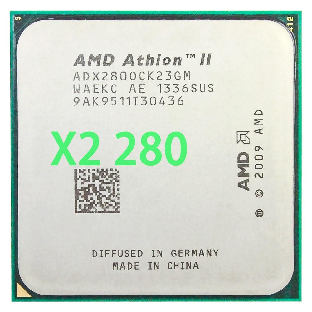 Procesador de CPU AMD Athlon II X2 280, 3,6 GHz/2MB L2, caché/enchufe...