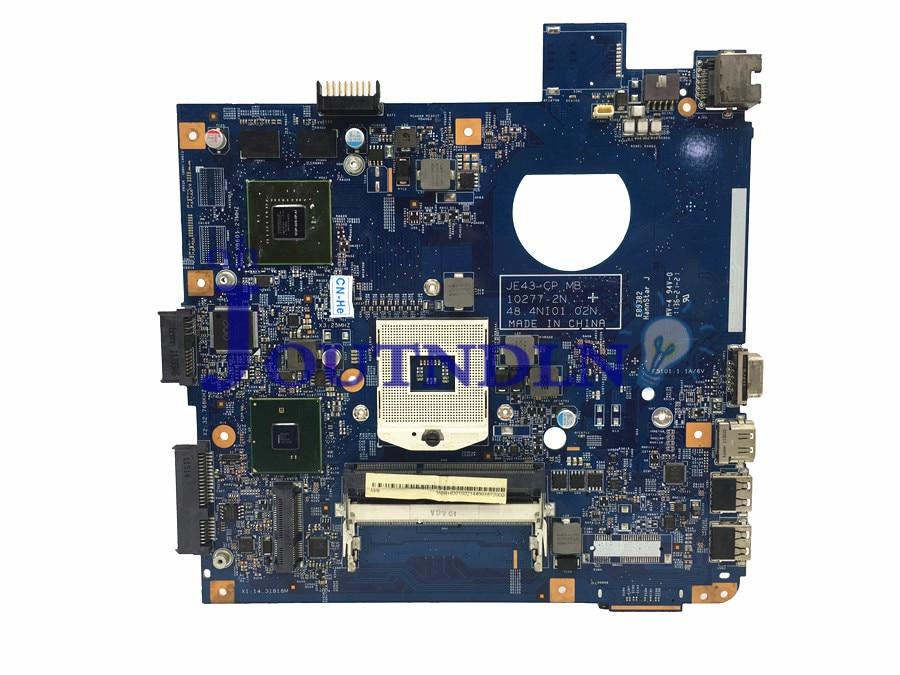 Joutndln para acer 4743 4743g ms2332 placa-mãe do portátil mbrhd01002 hm55 ddr3 48.4ni01.02n com placa gráfica gt520m