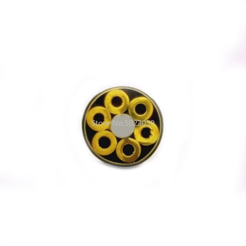 4mm diameter DIY Knife shank Mosaics Pin Rivets 6cm length nail Brass tube+steel tube #405