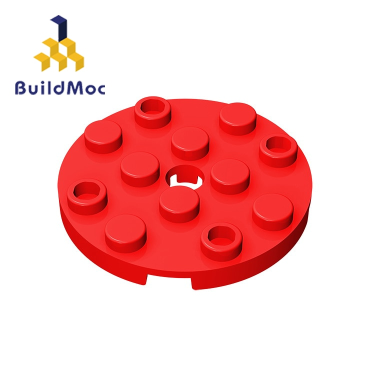 BuildMOC 60474 4x4 For Building Blocks Parts DIY LOGO Educational Creative gift Toys