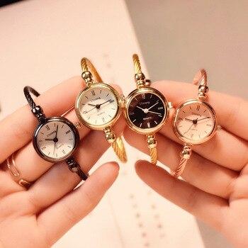 Женские кварцевые часы в стиле Ретро Ulzzang