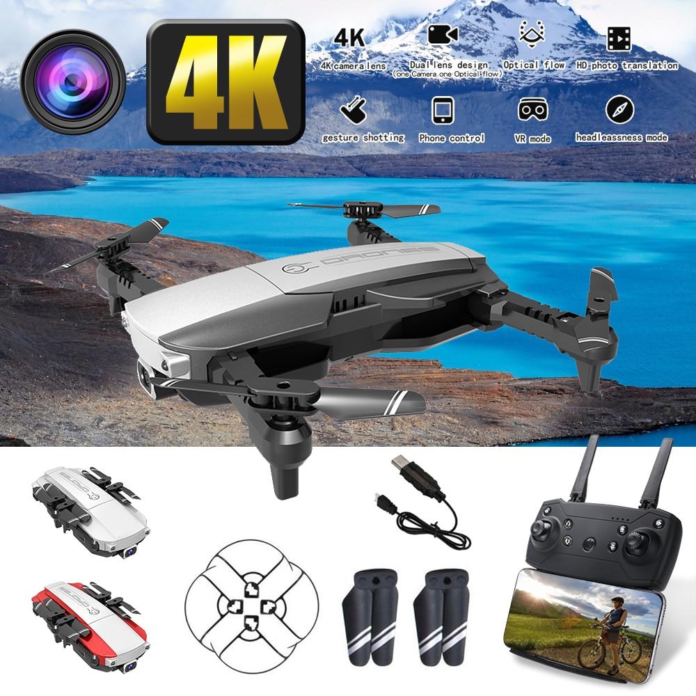 Ultra alta definición 4K 2,4G WiFi FPV plegable RC Quadcopter Drone altura fija el modo de posicionamiento de flujo óptico VS DJI MAVIC aire