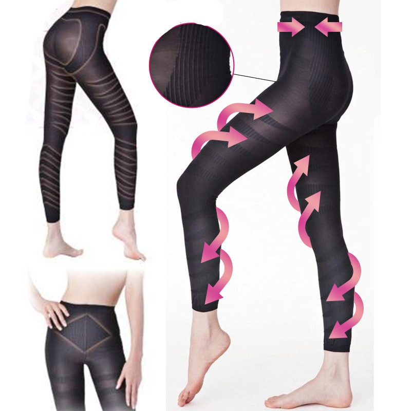 Corpo Shaper pants Emagrecimento massagem espiral queimar calorias bundas lifter controle mulheres calcinhas perna fina up cuecas pretas