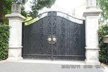 Hench 100% ręcznie kute niestandardowe wzory ozdobne metalowe bramy
