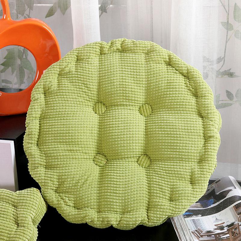 Corn PANA cojín de asiento grueso elástico redondo cojines Vintage decorativo Color sólido cojines de silla y sofá envío gratis