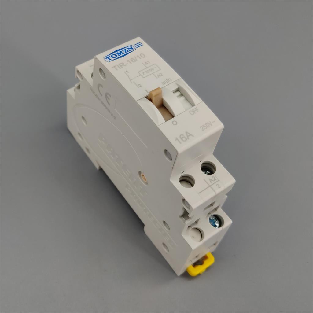 TOMZN импульсное реле домашнее электрическое реле управления импульсом автоматическое реле управления 16A 230VAC 110VDC 220V AC для цепи освещения TIR