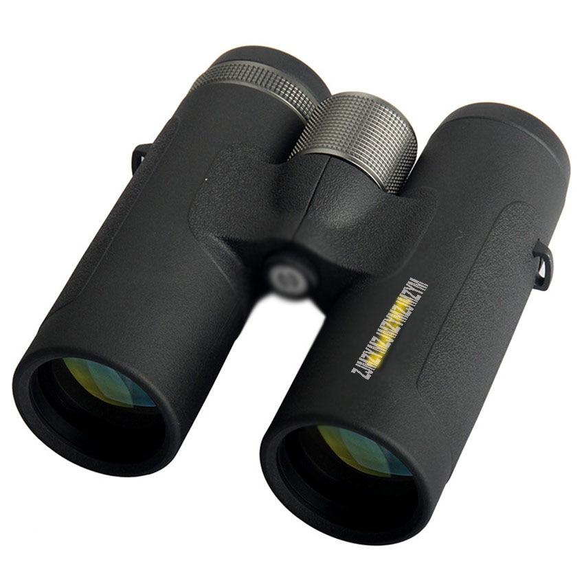 Telescopio binoculares militares 8x42 resistente al agua HD para avistaje de aves con múltiples capas de alta visión clara con correa para viaje de caza