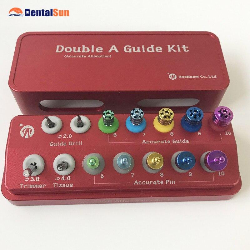 Kit de guía Dental Doble A/Kit de guía de implante Dental