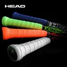 10 pièces anti-dérapant tête Tennis Grip bande PU Tennis surgrip Tenis raquette bandeau Tenis Dampener Tennis Grip bandes Badminton bande