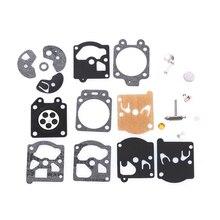 1 комплект Новое поступление Carb прокладка диафрагмы карбюратора иглы Ремонтный комплект для WA/WT/Walbro серии K10/K20-WAT эхо бензопила