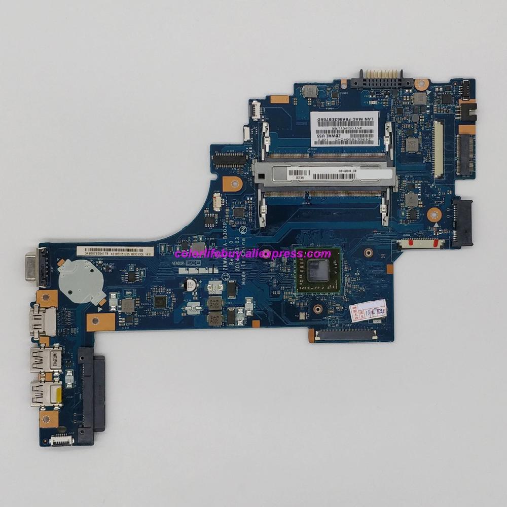 Genuine K000891410 ZKWAE LA-302P w A8-6410 CPU Laptop Motherboard for Toshiba Satellite C50D C55D C55D-B Notebook PC