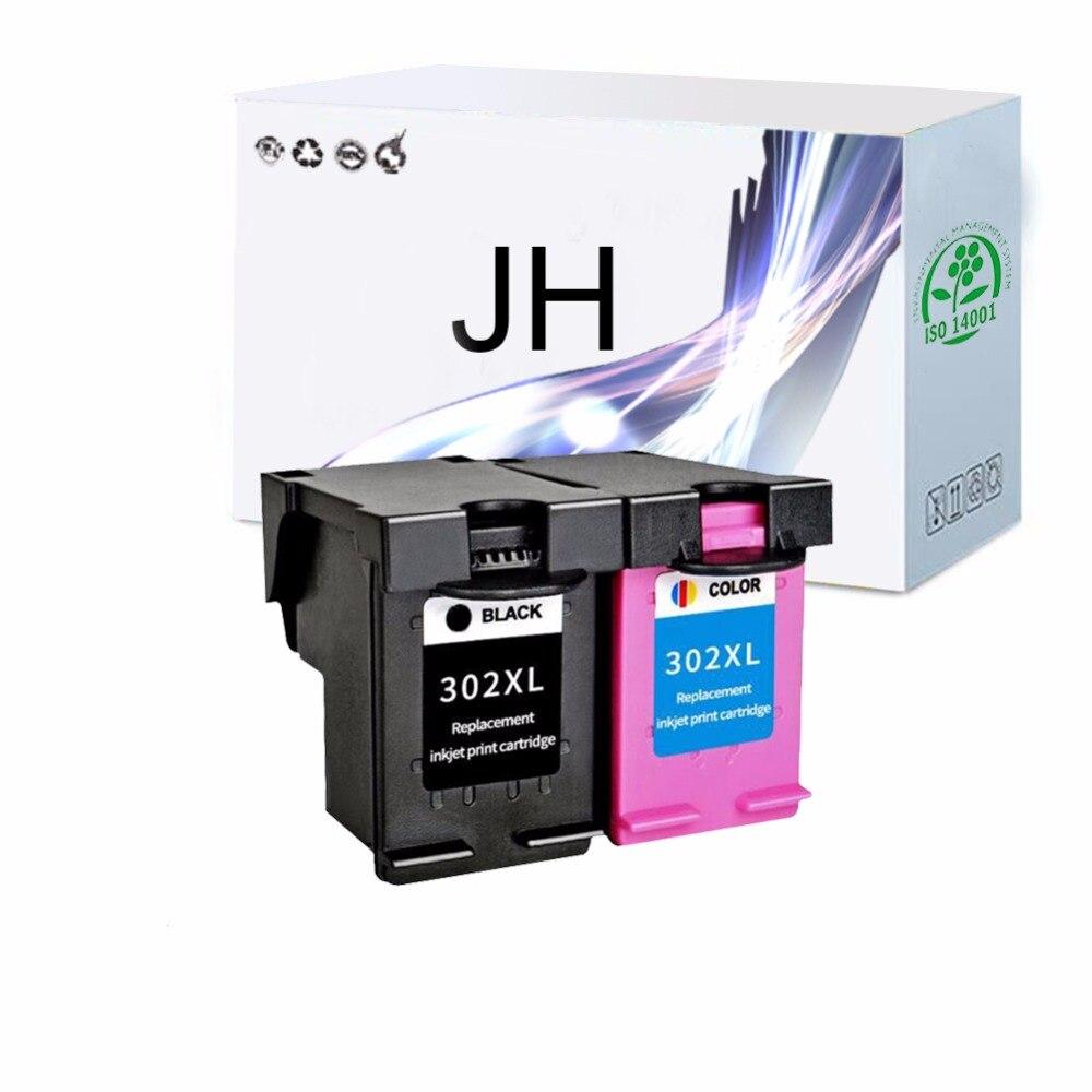 JH 302XL מילוי דיו מחסנית החלפה עבור Deskjet 1111 1112 2130 2135 1110 3630 3632 3830