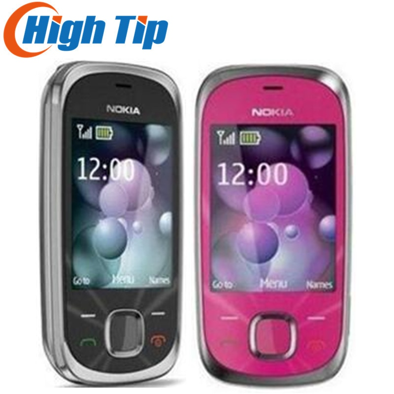 NOKIA Original desbloqueado 7230 envío gratis CÁMARA DE 3.2MP Original 7230 3G teléfono móvil reacondicionado 1 año de garantía