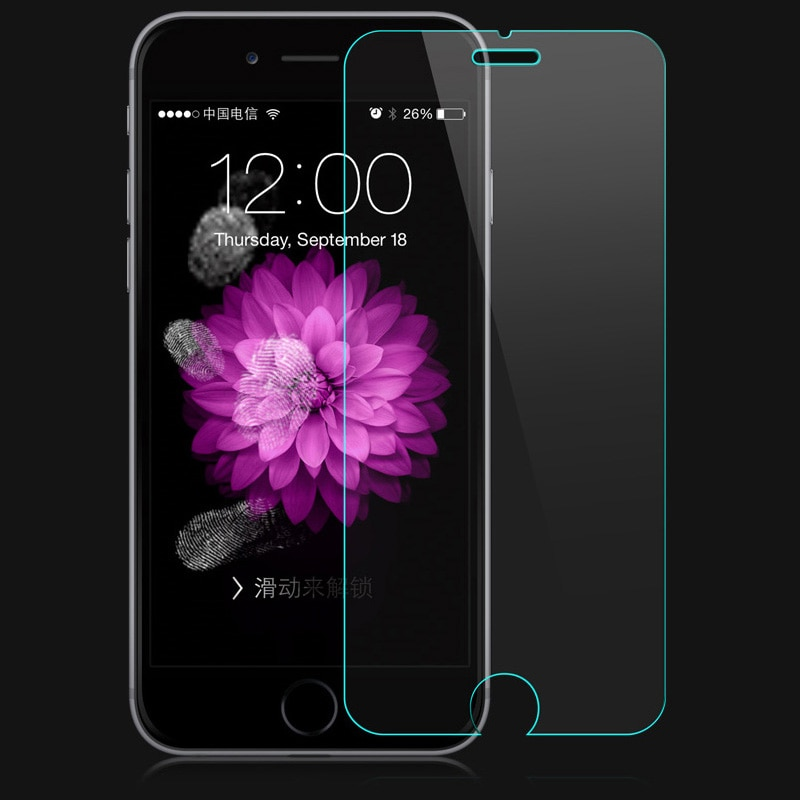 10pcs 9h tempered glass screen protector for iphone 6/6s 4.7
