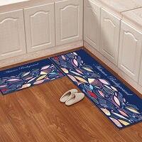 Carpet For Kitchen 2 pcs/set Rug For Living Room Cartoon Kids Room Carpet Anti Slip Bath Mat For Toilet Cute Rugs For Bedroom
