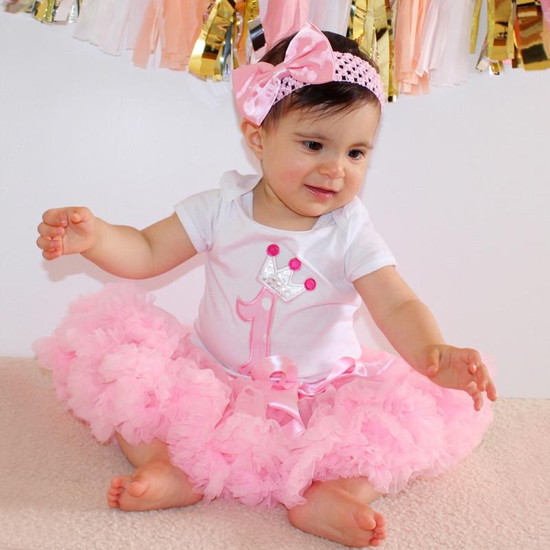 3 uds conjuntos de ropa con falda tutú para niñas pequeñas, pelele, falda de tul, ropas y mono para niños, disfraces de fiesta de cumpleaños de princesa