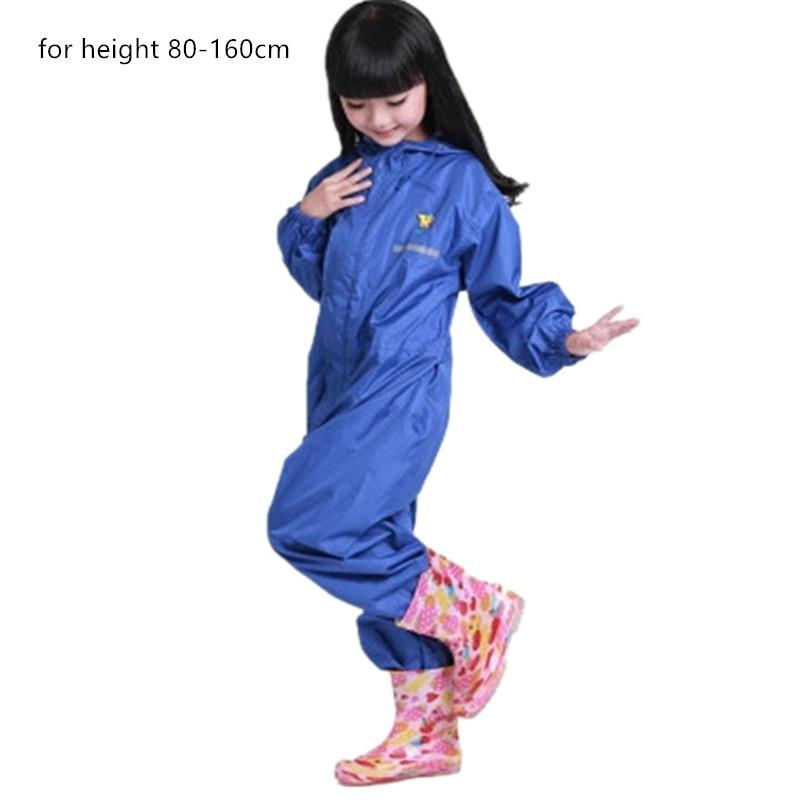 Giacca a vento impermeabile per i bambini Del Bambino dei pantaloni Del Cappotto di Pioggia Pnocho bambini Rainsuit Allaperto della ragazza dei ragazzi impermeabili per i bambini