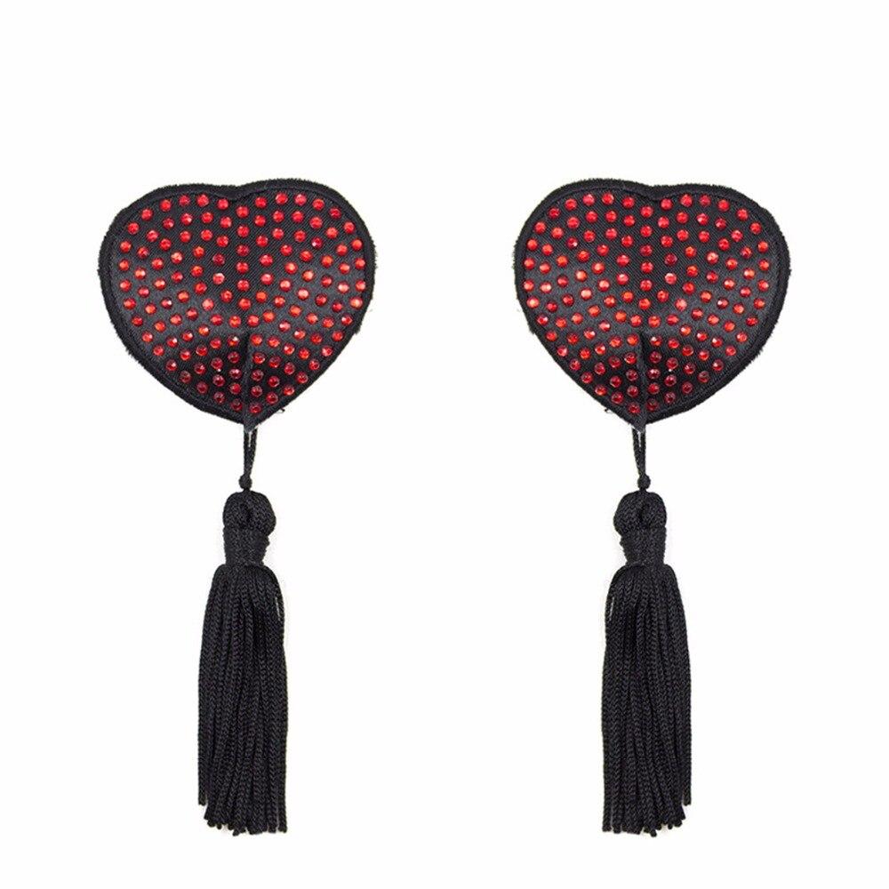 Многоразовые алмазные ниппели покрытие для женщин Самоклеющиеся страстные сексуальные кисточки Tepel крышка бюстгальтер аксессуары