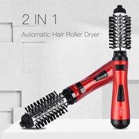 Щипцы для завивки волос автоматический фен для волос 0, электрическая плойка, вращающаяся с автоматическим нагревом, для сухих волн, расческ...