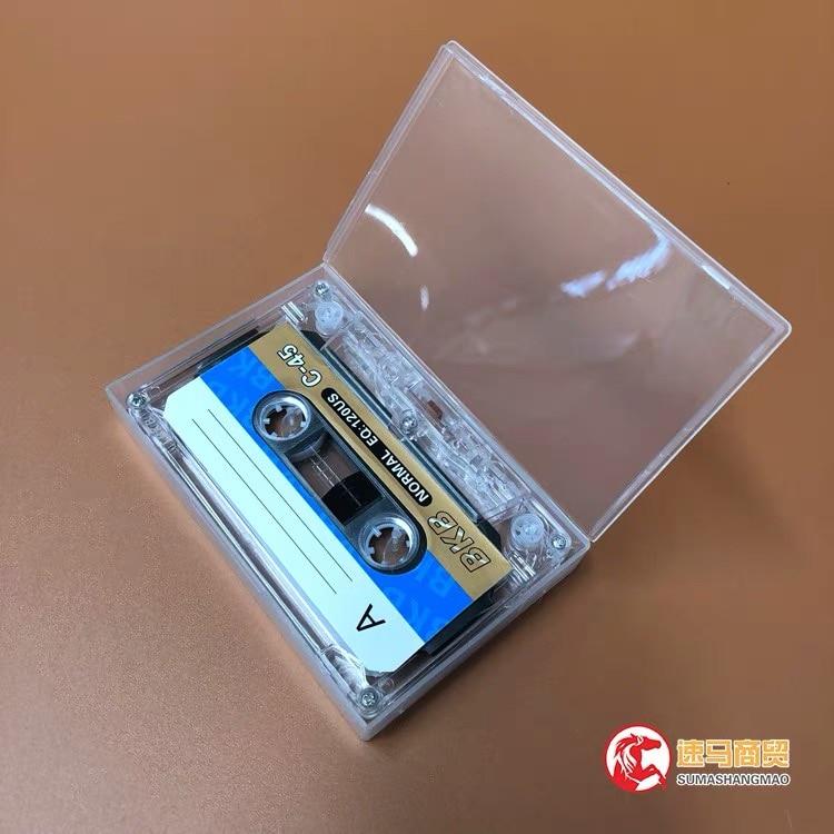Wholesale 10 pcs BKB C-45 45 Minutes Normal Position Type 1 Recording Blank Cassette Tapes.