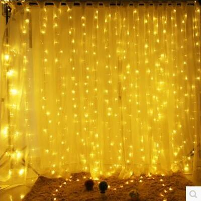 new year garland led christmas lights outdoor luces navidad led cristmas lights decoration waterfull string light luzes de natal Christmas!6x3M Garland LED Christmas Lights Outdoor Decoration LED Curtain String Fairy Light For Holiday Wedding Luzes de Natal