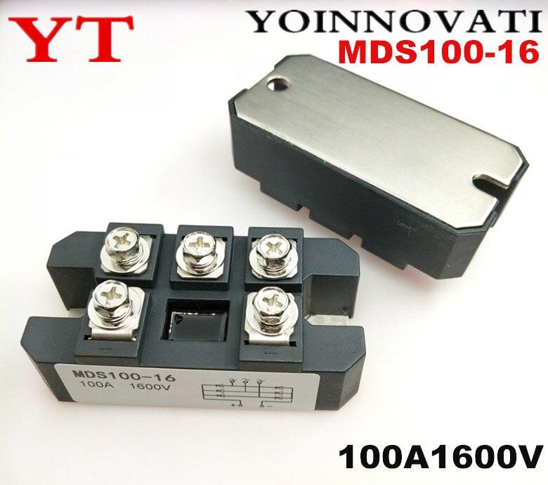 2 قطعة/الوحدة MDS100-16 MDS100 100A1600V وحدات
