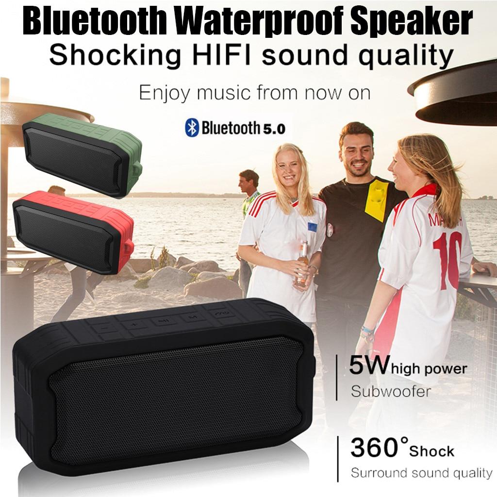 Mini altavoces impermeables IPX7 con altavoz Bluetooth inalámbrico portátil a la moda HIPERDEAL Jy12