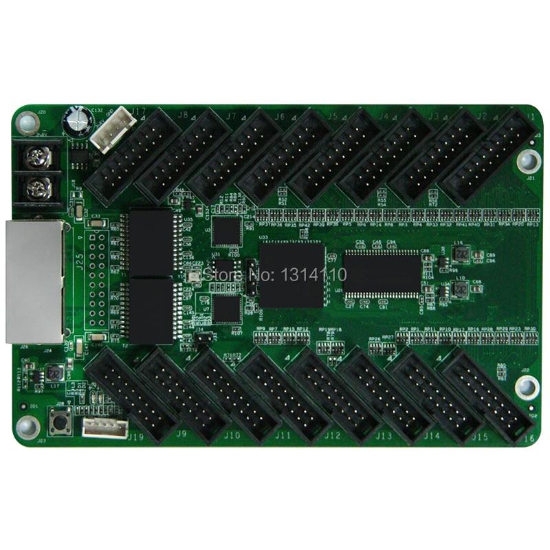 Sistema de control de pantalla Led Colorlight 5A-75E tarjeta de recepción Full clolor RGB pantalla LED soporte de controlador de pantalla de sincronización