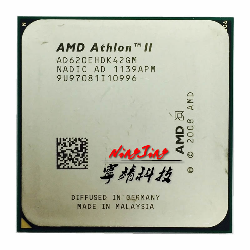 AMD Athlon II X4 620e 2,6 GHz 45W Quad-Core CPU procesador AD620EHDK42GM Socket AM3