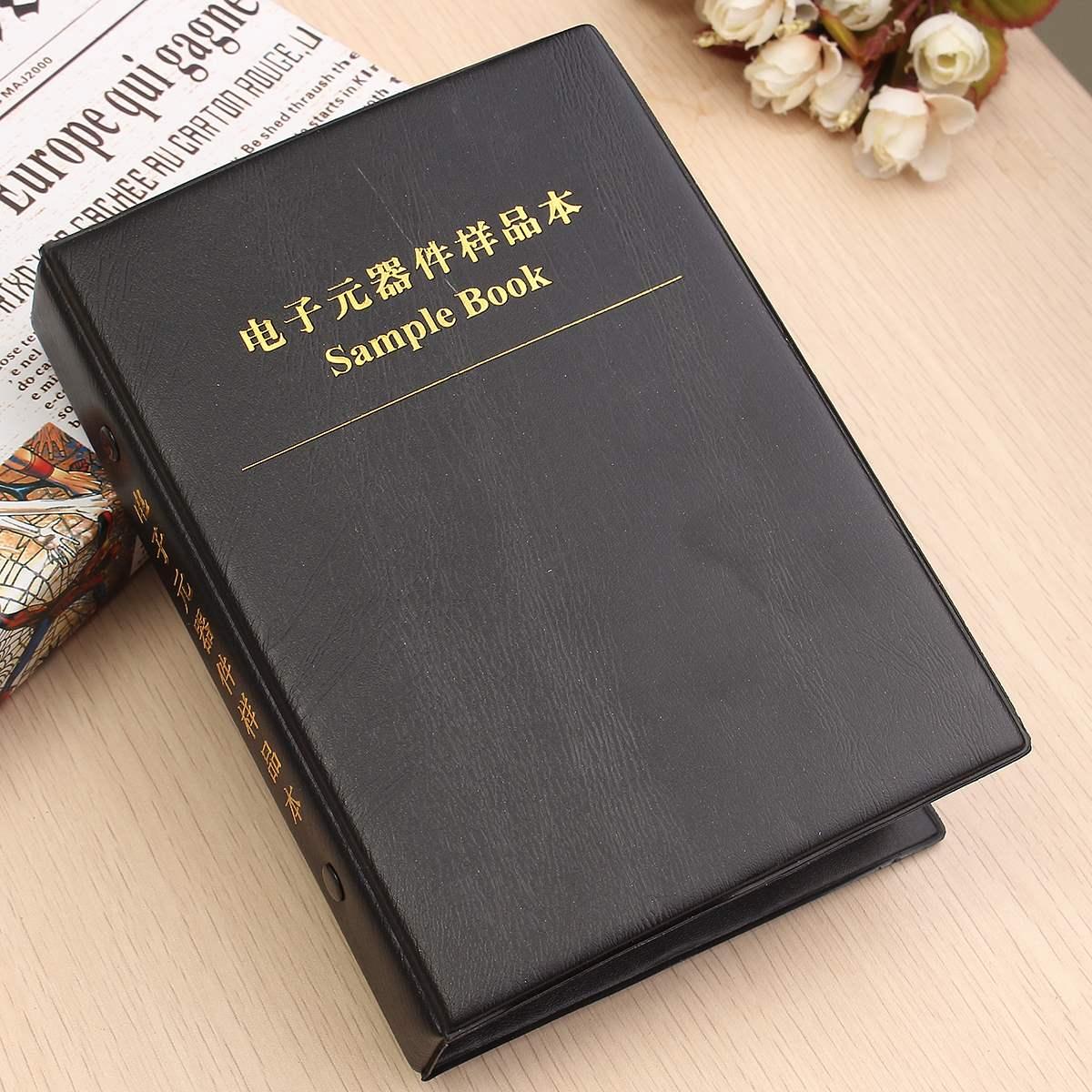 Хит продаж, новинка 0805, 1% SMD SMT чип, комплект резисторов в ассортименте, 170 значений, x50, ассорти, книга для образцов 13,5 см x 3 см x 19 см