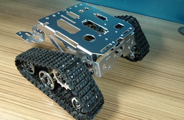 DIY 316 chasis de tanque de aleación/coche de oruga para control remoto/piezas de robot para fabricante DIY/kit de desarrollo
