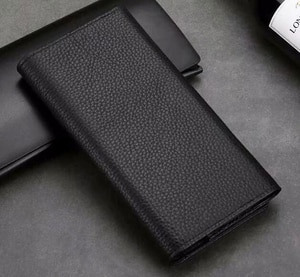 Wallet Genuine Cow Leather Phone Case For Galaxy A10 A60 A20,doogee N10 Y8c Y8 Y7 Bl7000,leagoo M13,vivo Iqoo V15 Pro X27