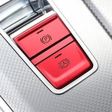P boutons frein à main électronique paillettes décoration couverture garniture pour Audi A6 C8 2019 alliage daluminium voiture intérieur accessoires