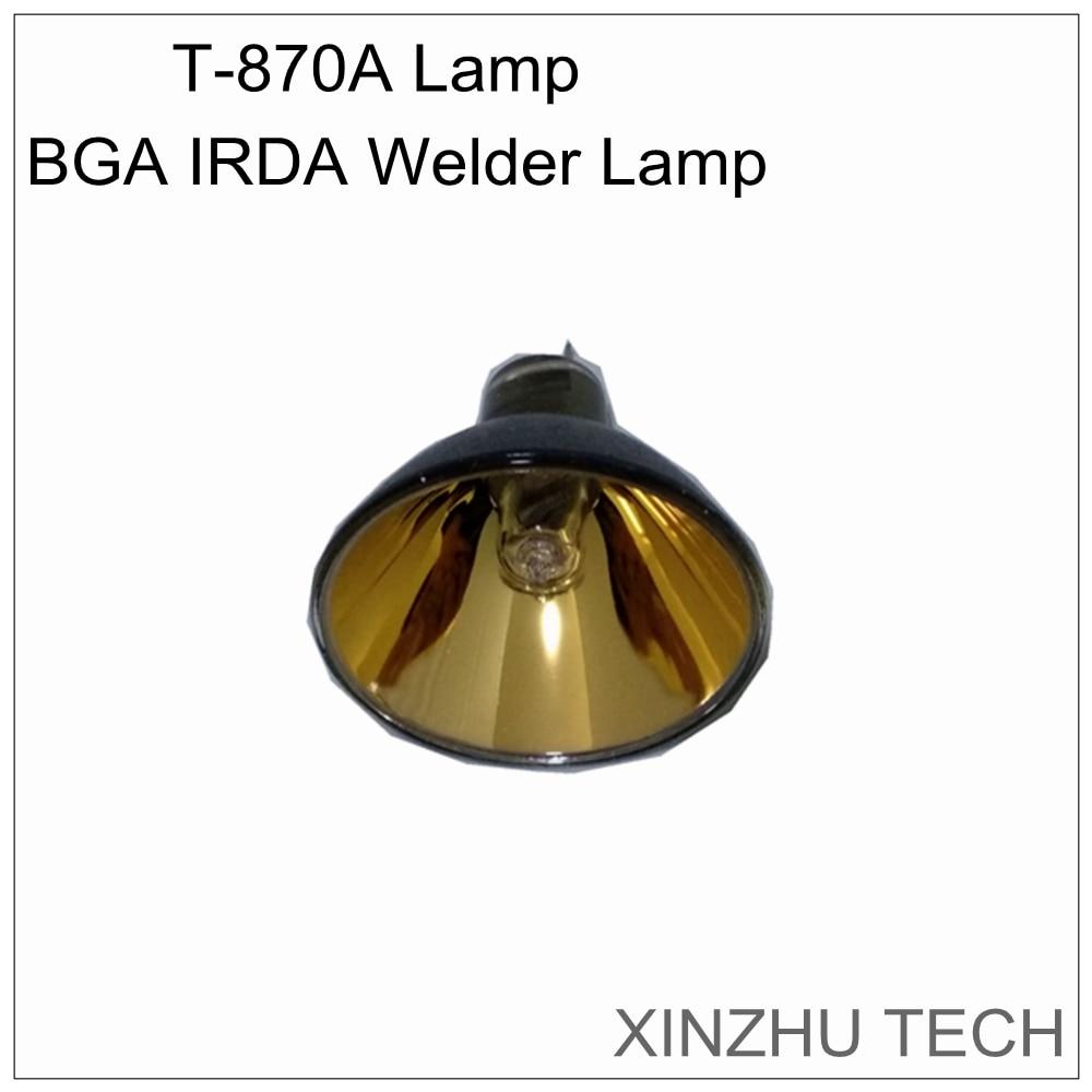 Оригинальный PUHUI T-870A сварочный аппарат BGA IRDA лампа инфракрасная нагревательная лампа паяльная станция Тепловая лампа для t870a аксессуары лам...