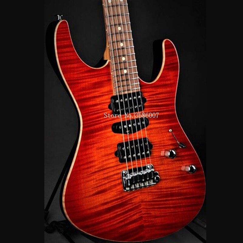 Farmer customshop/su electric guitar/Plus - Fireburst/6 string electric guitar/free shipping/