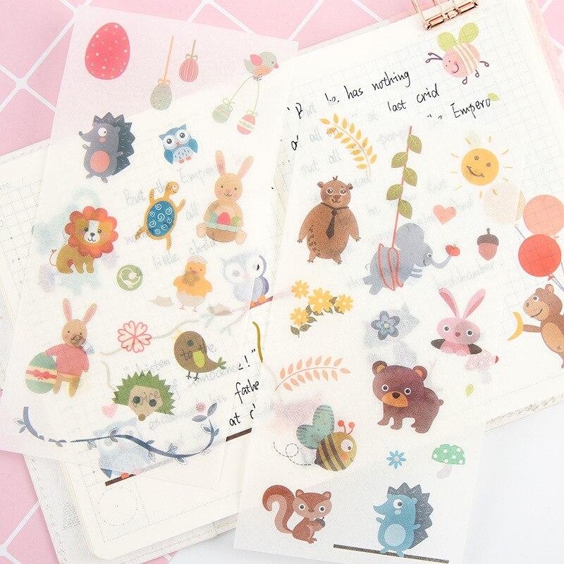 pegatinas-de-animales-bonitos-para-album-de-recortes-etiquetas-adhesivas-para-diario-papeleria-album-etiquetas-adhesivas-suministros-escolares-y-de-oficina-6-hojas-por-paquete