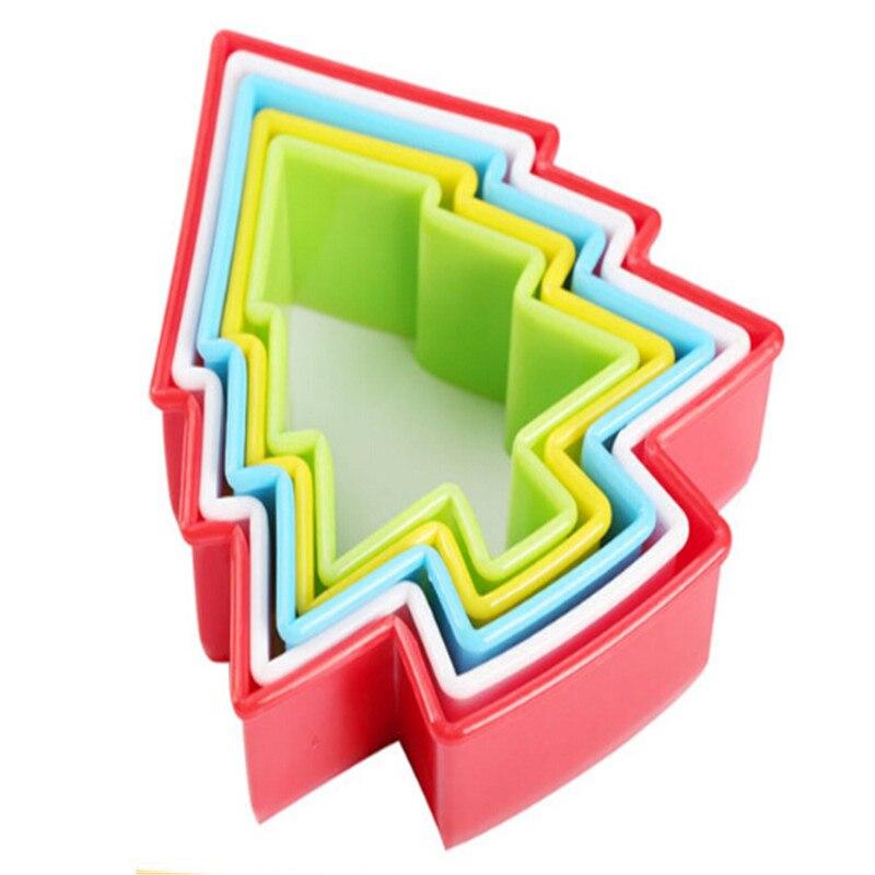 Juego de 5 unidades de molde de plástico para pastel, cortador de...