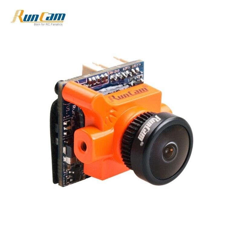 En stock RunCam Micro Swift 2 600TVL 2,1mm/2,3mm FOV 160/145 grado 1/3 CCD cámara FPV con OSD incorporado para Dron RC