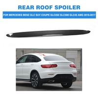 Carbon Fiber Rear Roof Wing Lip Spoiler For Mercedes Benz GLC Class X253 Sport Utility 4 Door GLC43 AMG Sport GLC300 16-17 FRP