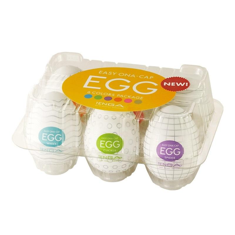 Random one Eggs intimate toys for men Masturbation Eggs Suitable sex toy for man
