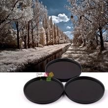 43mm 680nm + 760nm + 950nm infrarrojo IR Filtro de grado óptico para lente de cámara