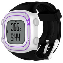 22cm 25cm Silicone Sports Bracelet Strap for Garmin Forerunner 10 15 GPS Smartwatch Replacement Band