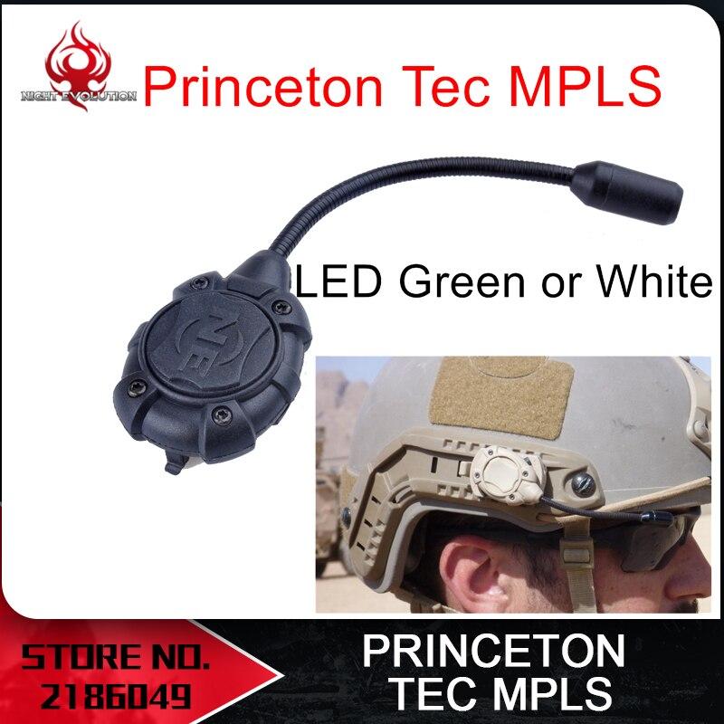 Night Evolution Princeton Tec MPLS Casco Modular Personal Sistema de Iluminación de Luz w/Monte Molle Militar de Combate Al Aire Libre NE 05012