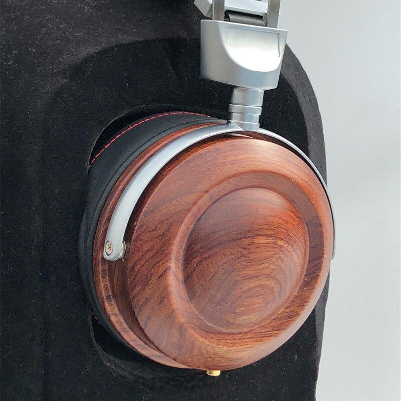 HiFi Headphone Case Over Ear Headphone Wooden Case Shell DIY Bluetooth Headphone Case Cover 40MM 50MM 53MM